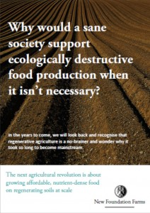 Regenerative Agriculture Comment by New Foundation Farms, June 2020 - Download